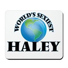 World's Sexiest Haley Mousepad