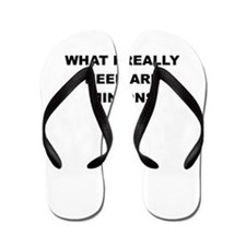 WHAT I REALLY NEED ARE MINIONS Flip Flops