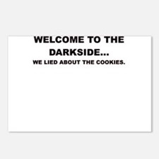 WELCOME TO THE DARKSIDE Postcards (Package of 8)