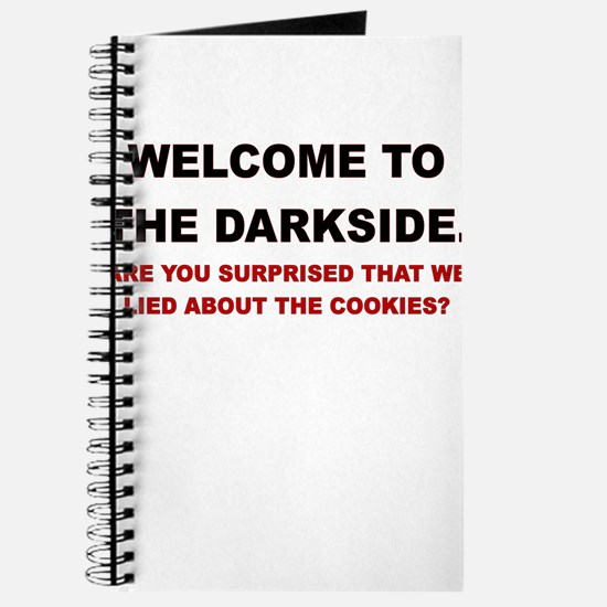 WELCOME TO THE DARKSIDE ARE YOU SURPRISED Journal