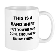 THIS IS A BAND SHIRT Mugs