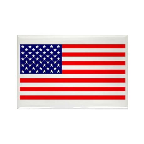 American Flag Rectangle Magnet