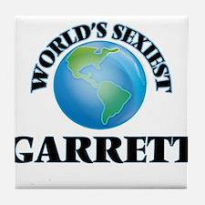 World's Sexiest Garrett Tile Coaster