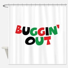 Buggin' Out Shower Curtain