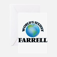 World's Sexiest Farrell Greeting Cards