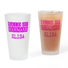 Maid Of Honor Personalized Drinking Glass