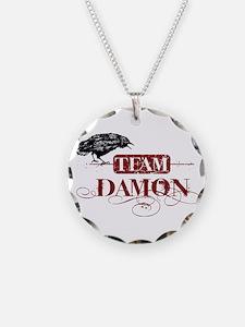 Vampire Diaries Damon red Necklace