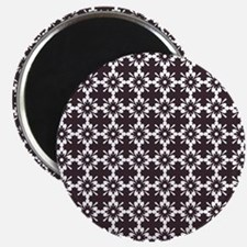 "Abstract Graphic Tile Patt 2.25"" Magnet (100 pack)"