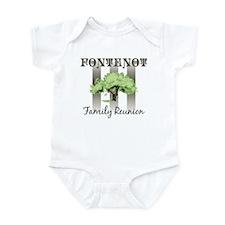 FONTENOT family reunion (tree Infant Bodysuit