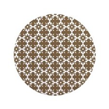 """Abstract Graphic Tile Pattern 3.5"""" Button"""