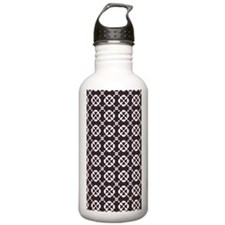 Abstract Graphic Tile Water Bottle