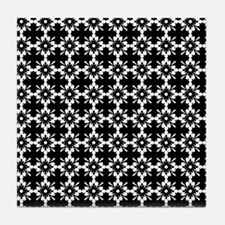 Abstract Graphic Tile Pattern Tile Coaster
