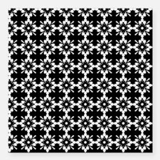 """Abstract Graphic Tile Pa Square Car Magnet 3"""" x 3"""""""
