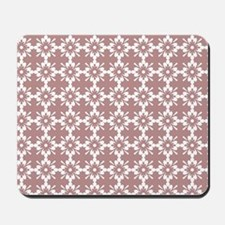 Abstract Graphic Tile Pattern Mousepad
