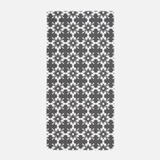 Abstract Graphic Tile Pattern Beach Towel