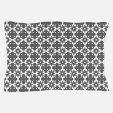 Abstract Graphic Tile Pattern Pillow Case