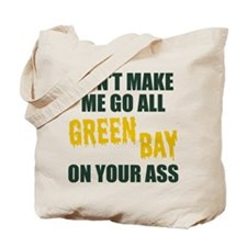 Green Bay Football Tote Bag