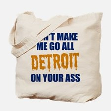 Detroit Baseball Tote Bag