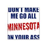 Minnesota Baseball Square Sticker 3