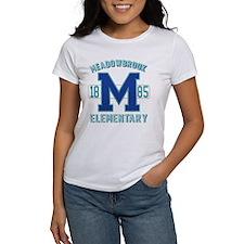 Meadowbrook Varsity Womens T Baseball T-Shirt