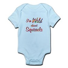 Wild About Squirrels Infant Bodysuit