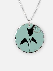 Black Tulip Mint Necklace