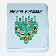 Beer Frame baby blanket