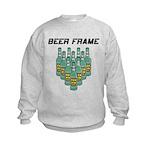 Beer Frame Kids Sweatshirt
