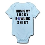 Lucky Bowling Shirt Infant Bodysuit