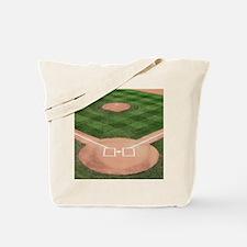 Baseball Diamond Tote Bag