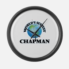 World's Sexiest Chapman Large Wall Clock