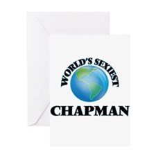 World's Sexiest Chapman Greeting Cards