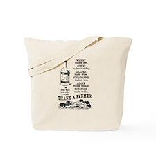 Thank a Farmer Tote Bag