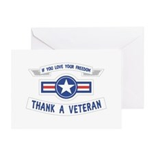 Thank a Veteran Greeting Cards