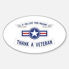 Thank a Veteran Decal