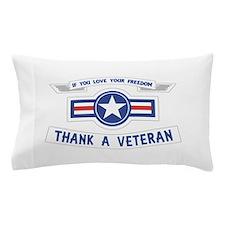 Thank a Veteran Pillow Case