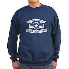 Thank a Veteran Sweatshirt