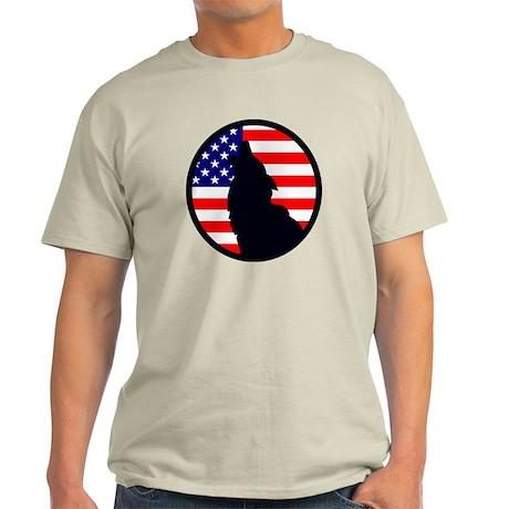 USA Full Moon Light T-Shirt