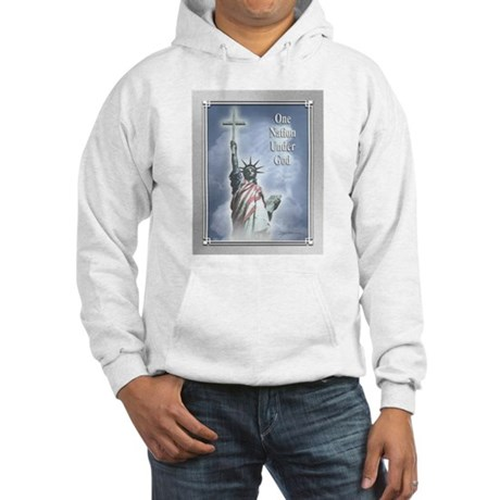 One Nation Under God Hooded Sweatshirt