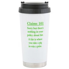 Unique C c Travel Mug