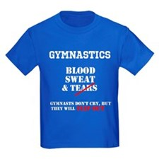 Gymnasts Dont Cry T-Shirt