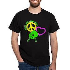 PEACE-LOVE-PINGPONG T-Shirt