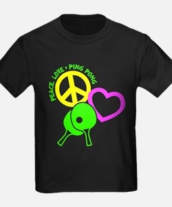 PEACE-LOVE-PINGPONG T