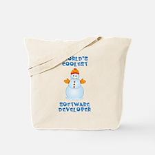 World's Coolest Software Developer Tote Bag