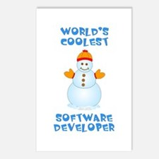 World's Coolest Software Postcards (Package of 8)