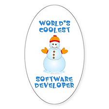 World's Coolest Software Developer Decal