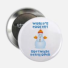 "World's Coolest Software Developer 2.25"" Button"