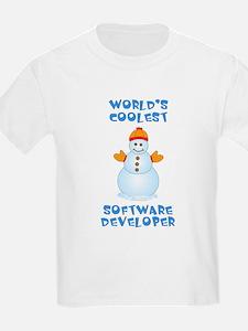 World's Coolest Software Develo T-Shirt