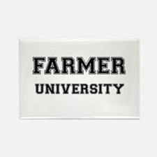 FARMER UNIVERSITY Rectangle Magnet