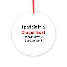 row dragon boat Ornament (Round)